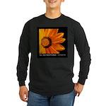 Real Men Wear Flowers Dark Long Sleeve T-Shirt