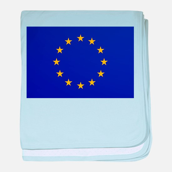 EU European Union baby blanket