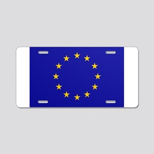 EU European Union Aluminum License Plate