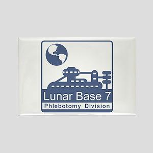 Phlebotomy / Lunar Base 7 Rectangle Magnet
