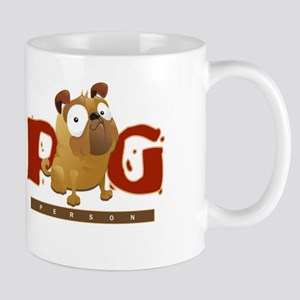 Pug Person Mugs