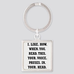 Voice Pause Keychains
