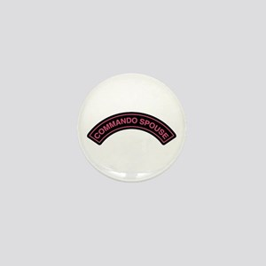 Commando Spouse Rocker Tab Mini Button