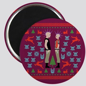 Vicious Christmas Sweater Tee Magnet