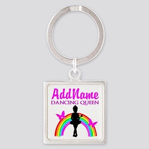 DANCING QUEEN Square Keychain
