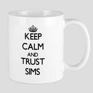 Keep calm and Trust Sims Mugs