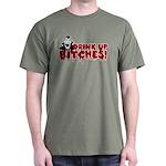 Dracula Drink up Bitches Halloween Dark T-Shirt