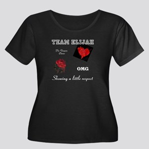 Team Elijah OMG Respect Plus Size T-Shirt