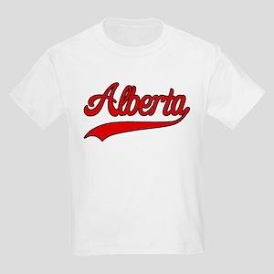 Retro Alberta Kids Light T-Shirt