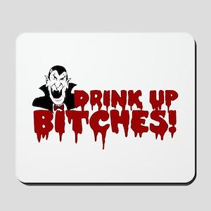 Dracula's Halloween Party Mousepad