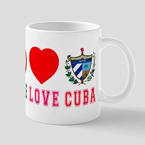 Peace Love Cuba Mug
