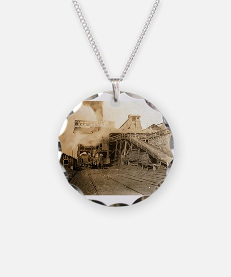 Coal tipple Necklace