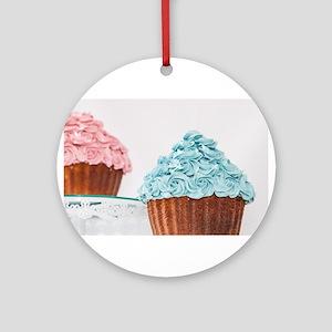 Cupcakes Ornament (Round)