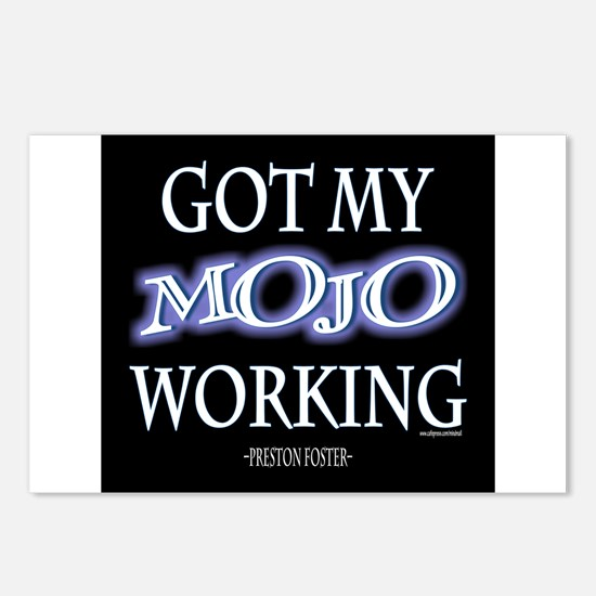 Mojo Working Postcards (Package of 8)