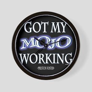 Mojo Working Wall Clock