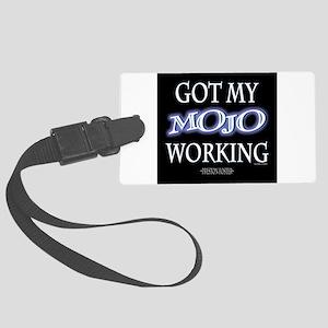 Mojo Working Luggage Tag