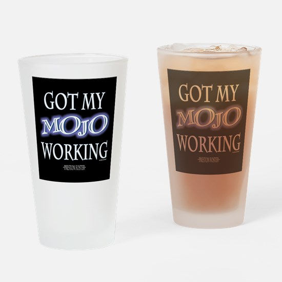 Mojo Working Drinking Glass
