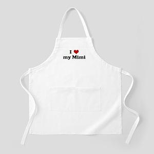 I Love my Mimi BBQ Apron