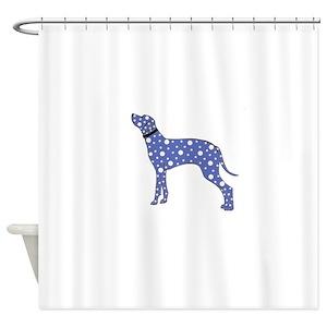 Dalmatian Dog Spots Shower Curtains