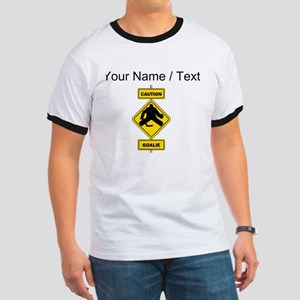 Custom Caution Goalie Sign T-Shirt
