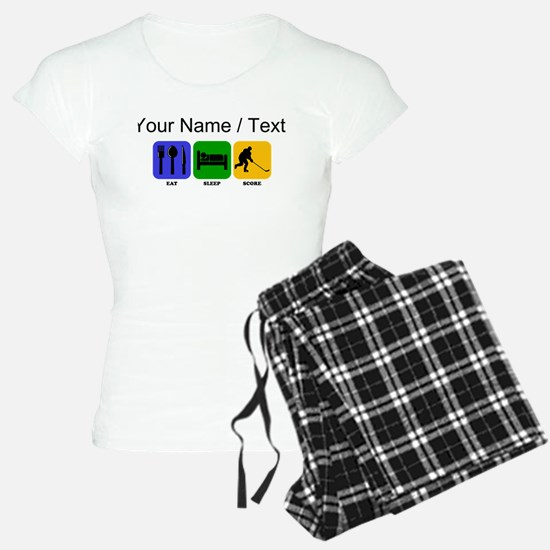 Custom Eat Sleep Score pajamas