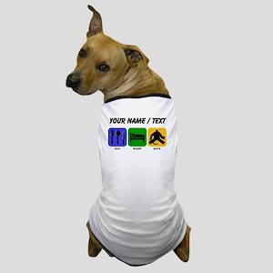 Custom Eat Sleep Save Dog T-Shirt