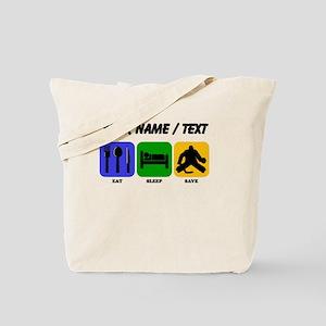 Custom Eat Sleep Save Tote Bag