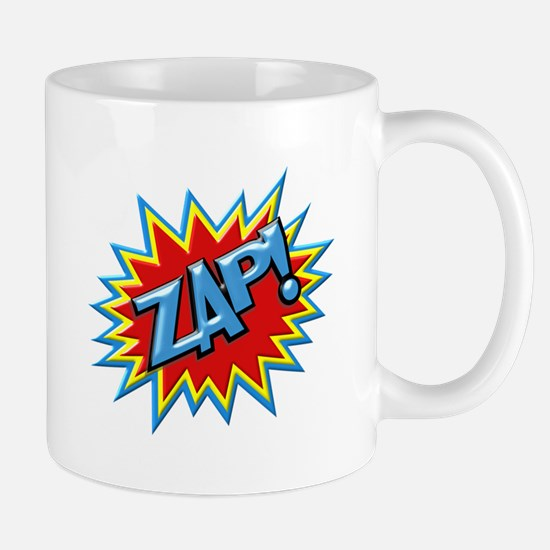 Comic Book Burst Zap! 3D Mugs
