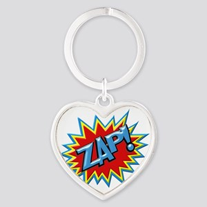 Comic Book Burst Zap! 3D Keychains
