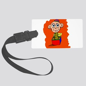 Pop goes the Weasel Luggage Tag