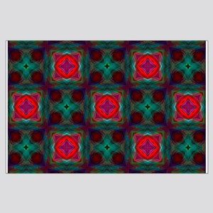 Abstract Fractal Pattern Posters