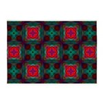 Abstract Fractal Pattern 5'x7'Area Rug