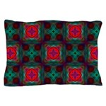 Abstract Fractal Pattern Pillow Case