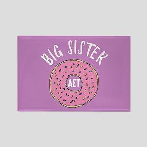 Alpha Sigma Tau Big Donut Rectangle Magnet