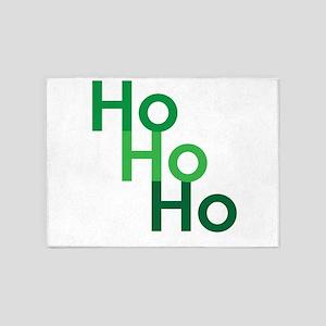 Ho Ho Ho 5'x7'Area Rug