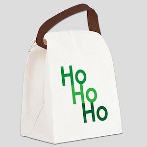 Ho Ho Ho Canvas Lunch Bag