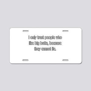 Funny Aluminum License Plate