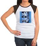 Vintage African Animals Women's Cap Sleeve T-Shirt
