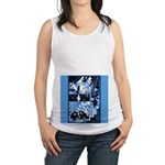Vintage African Animals Maternity Tank Top