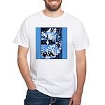 Vintage African Animals White T-Shirt