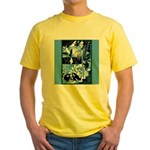 Vintage African Animals Yellow T-Shirt