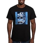 Vintage African Animals Men's Fitted T-Shirt (dark