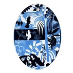 Vintage African Animals Ornament (Oval)