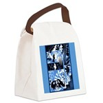 Vintage African Animals Canvas Lunch Bag
