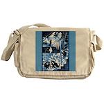 Vintage African Animals Messenger Bag