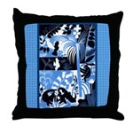 Vintage African Animals Throw Pillow