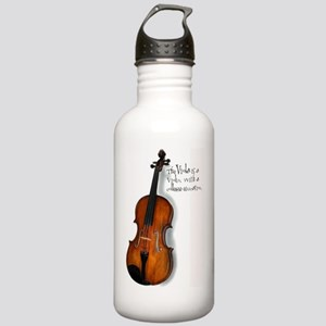 violarealisticlarge Stainless Water Bottle 1.0L