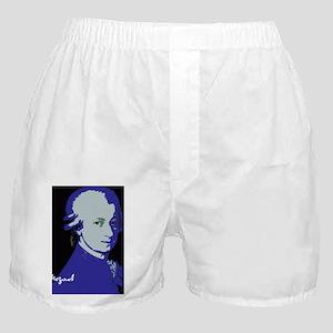 Mozart_portraitinBlueforZ Boxer Shorts