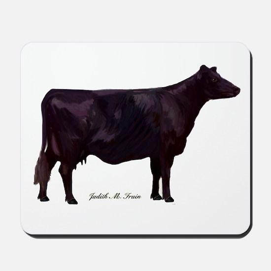 Angus Beef Cow Mousepad