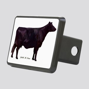 Angus Beef Cow Rectangular Hitch Cover